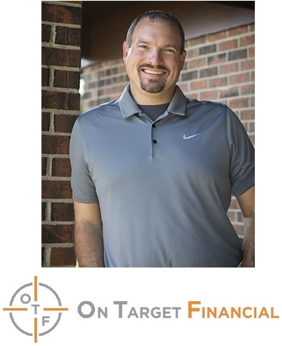 Joseph G Prokop photo and On Target Financial logo